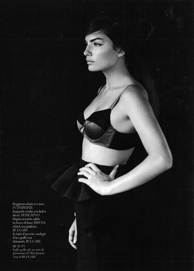 Alyssa Miller by Laurence Ellis for <em>Gioia Magazine</em>