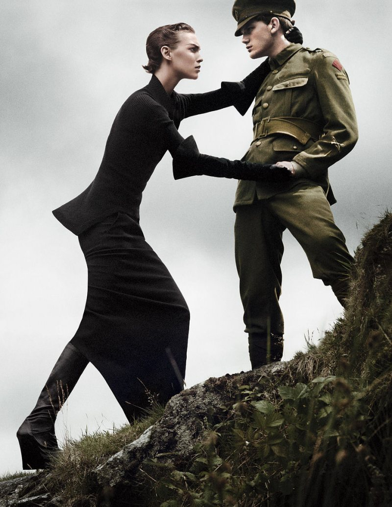 Arizona Muse by David Sims for <em>Vogue US</em> November 2011