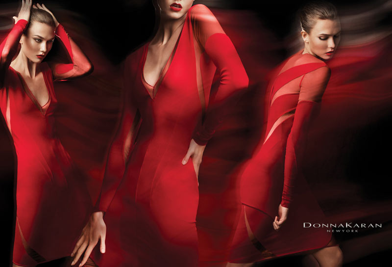 Karlie Kloss for Donna Karan Resort 2012 Campaign