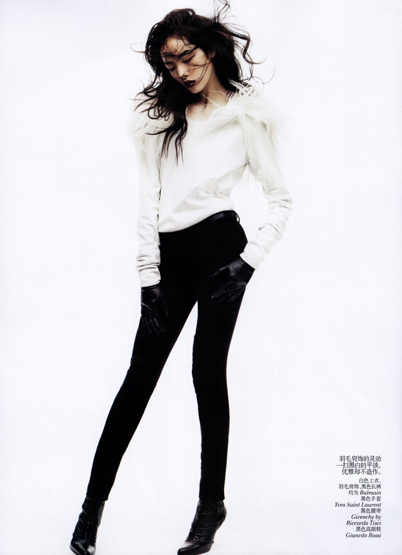 Fei Fei Sun by Josh Olins for <em>Vogue China</em> November 2011