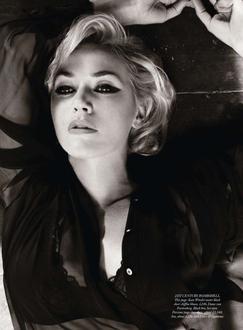 Kate Winslet by Tom Munro for <em>Harper&#8217;s Bazaar UK</em> November 2011