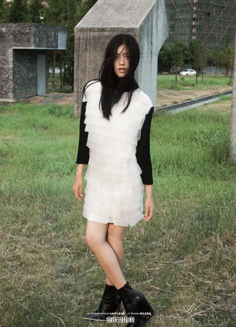 Liu Wen by Maciek Kobielski for <em>Modern Weekly China</em>