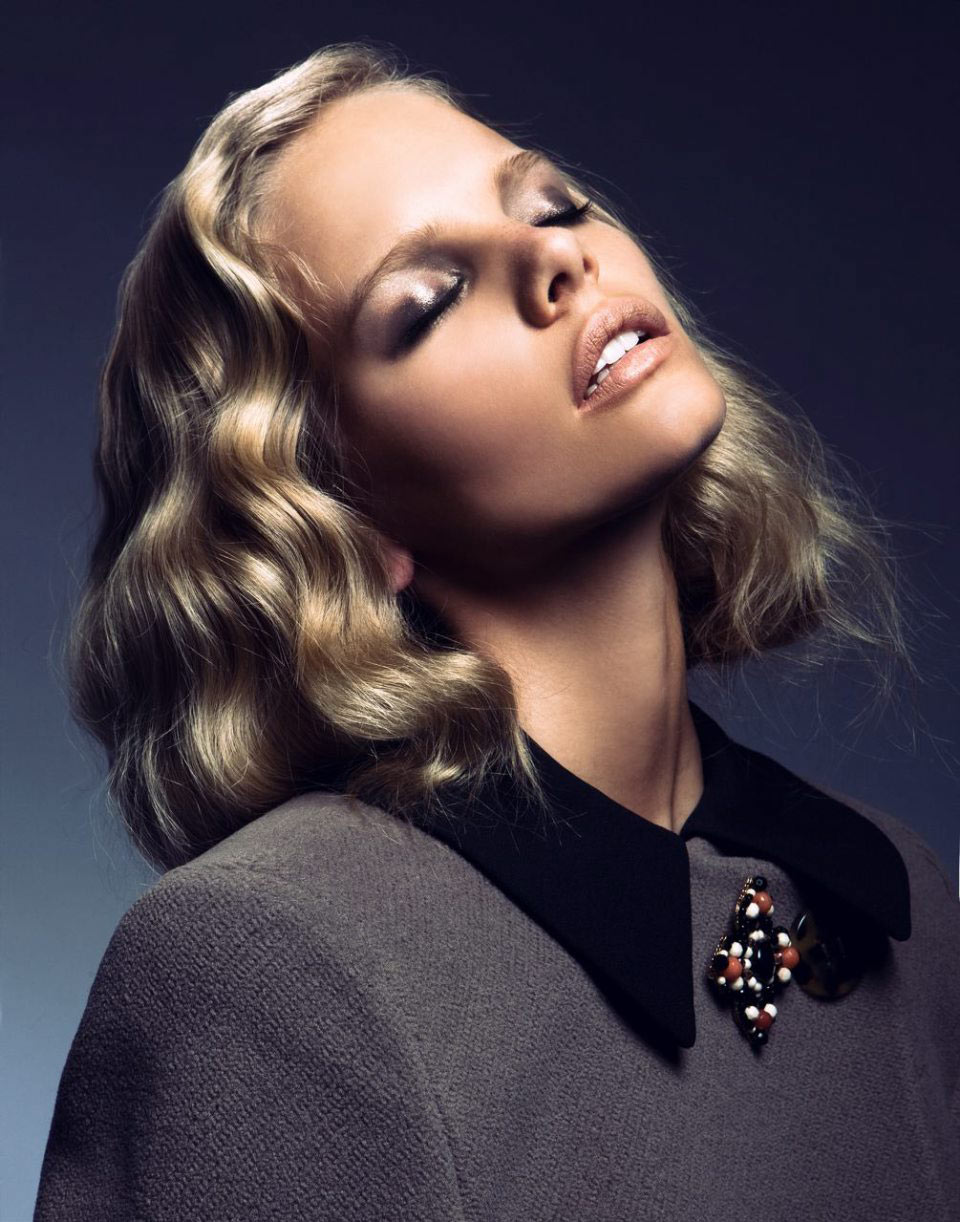 Marloes Horst by Alexander Neumann for <em>Vogue Mexico</em> October 2011
