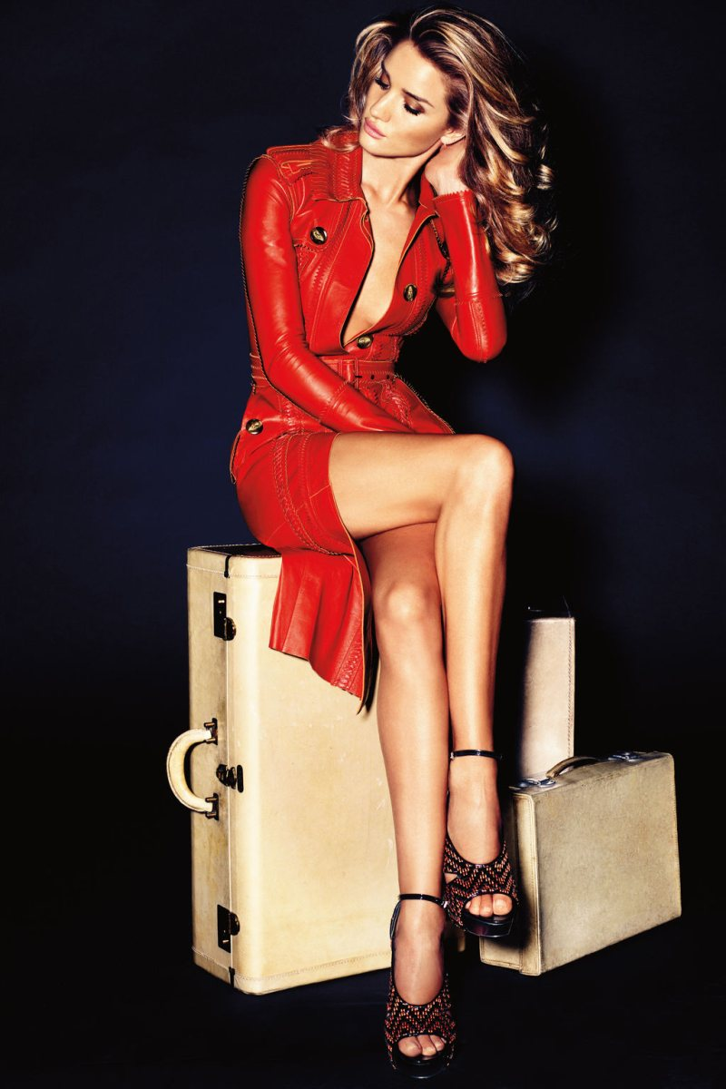 Rosie Huntington-Whiteley by Alexi Lubomirski for <em>Vogue Germany</em> November 2011