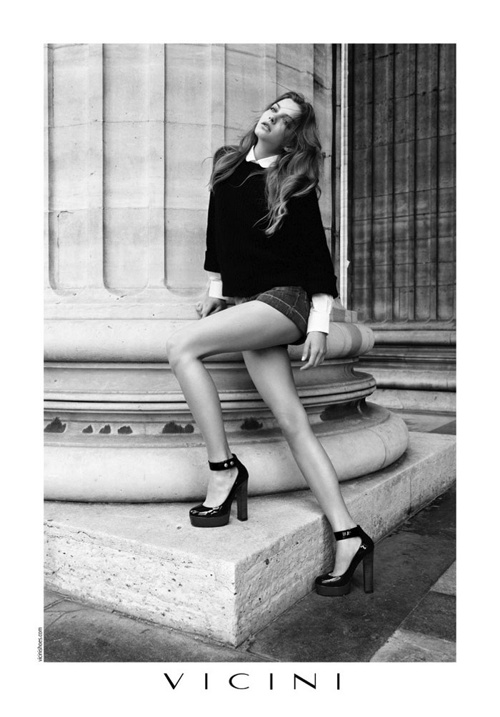 Vicini Fall 2011 Campaign | Kasia Szuberska by Hugues Laurent