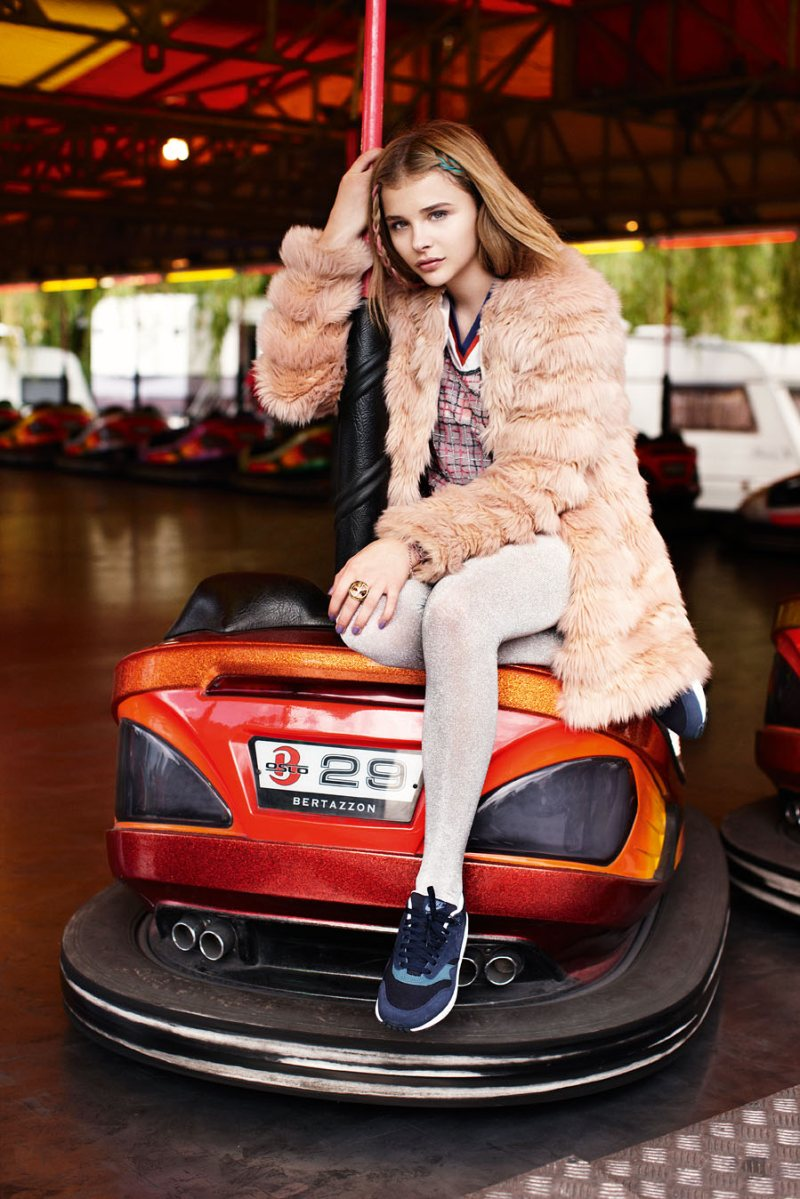 Chloe Moretz by Alex Sainsbury for <em>ASOS Magazine</em>