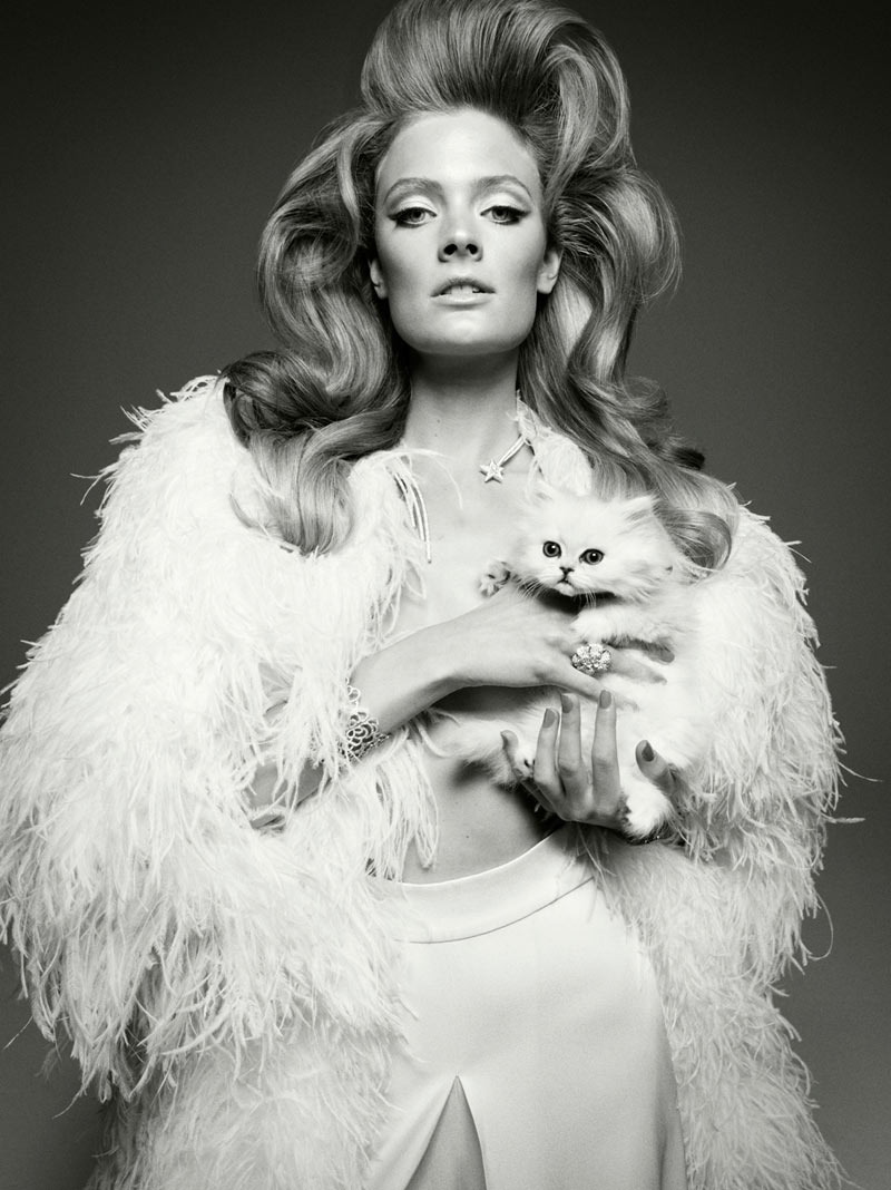 Constance Jablonski by Greg Kadel for <em>Vogue Italia</em>