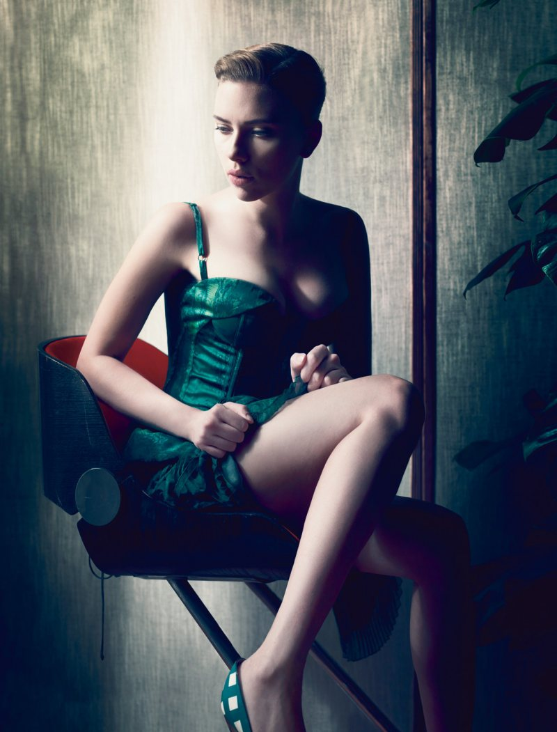 Scarlett Johansson by Sølve Sundsbø for <em>Interview</em>