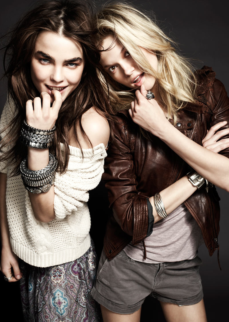 Kasia Struss & Bambi Northwood-Blyth for SET Spring 2012 Lookbook