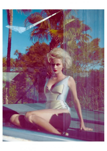 Annabella Barber by Jamie Nelson for <em>Madame Germany</em> February 2012
