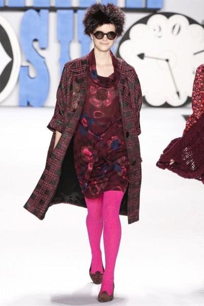 Anna Sui Fall 2012 | New York Fashion Week