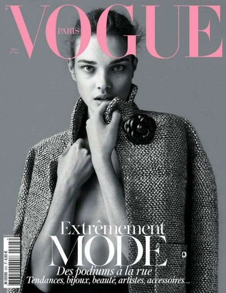 <em>Vogue Paris</em> March 2012 Cover | Natalia Vodianova by Mert &#038; Marcus