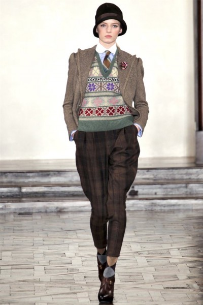 Ralph Lauren Fall 2012 | New York Fashion Week