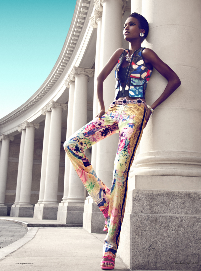 6 Arlenis Sosa by Kevin Sinclair for Harpers Bazaar Mexico May 2012