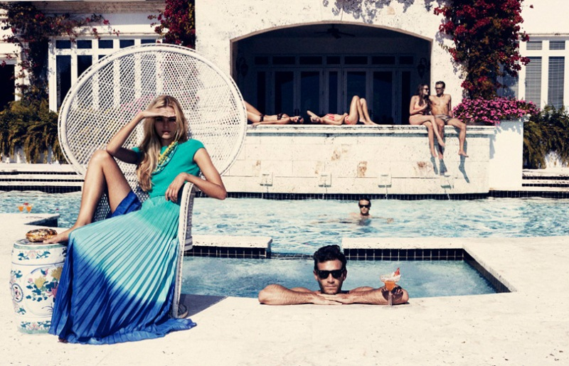 MG 2403 Valentina Zelyaevas Chic Pool Party for Velvet June, Lensed by Marcus Ohlsson