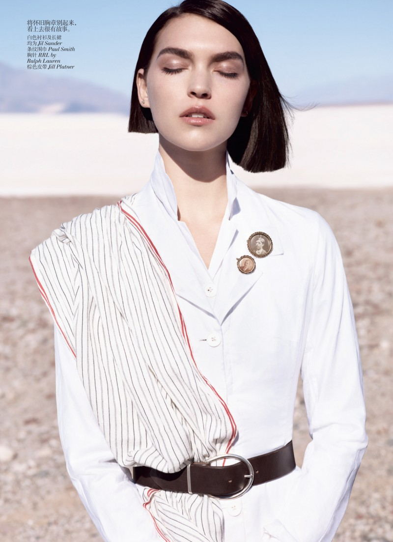 muse china 03 e1335985846348 Arizona Muse by Josh Olins for Vogue China May 2012