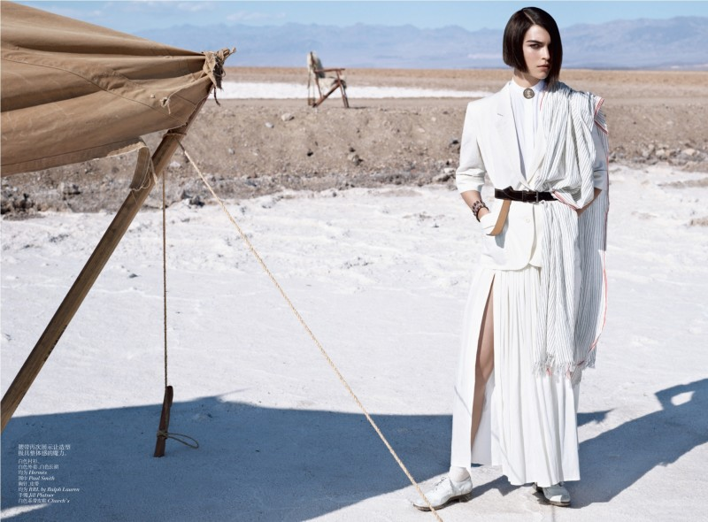 muse china 04 e1335985867207 Arizona Muse by Josh Olins for Vogue China May 2012