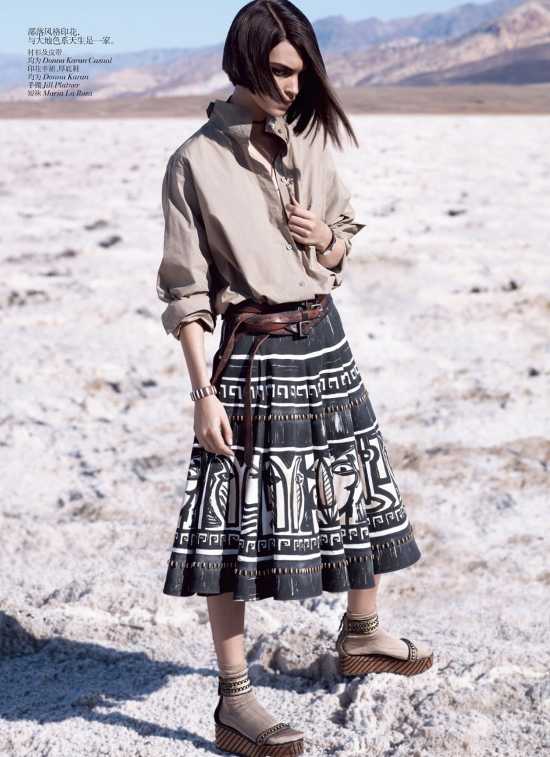Arizona Muse by Josh Olins for Vogue China May 2012