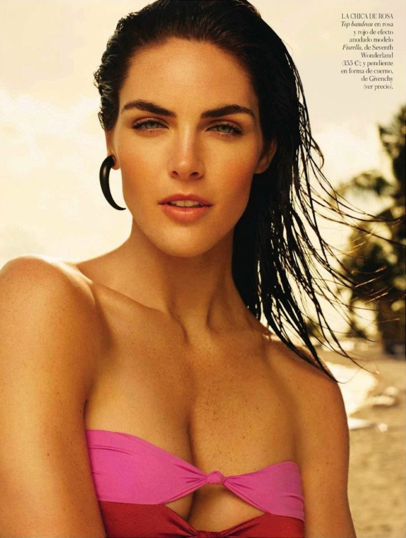 rhoda spain 4 Hilary Rhoda in Sporty Beachwear for Vogue Spain, Shot by Miguel Reveriego