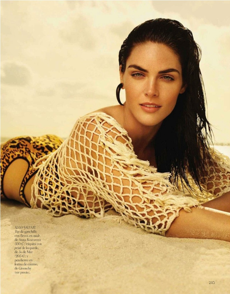 rhoda spain 7 Hilary Rhoda in Sporty Beachwear for Vogue Spain, Shot by Miguel Reveriego