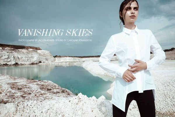 Becca B by Jaclyn Adams in 'Vanishing Skies' for Fashion Gone Rogue