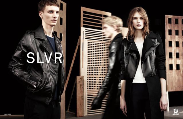 Lara Mullen is a City Girl for Adidas SLVR's Fall 2012 Campaign by Willy Vanderperre