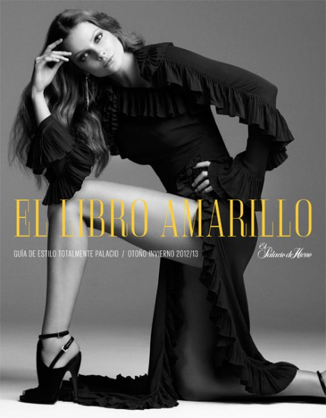 Eniko Mihalik Exudes Pure Elegance for the El Palacio de Hierro F/W 2012 Campaign by David Roemer