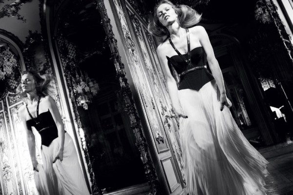 Eva Herzigova is an Elegant Icon in Antidote Magazine's Spring/Summer Issue