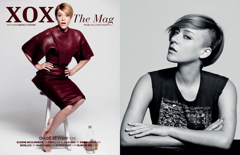 Chloe Sevigny Covers XOXO The Mag's September Issue with Modern Style