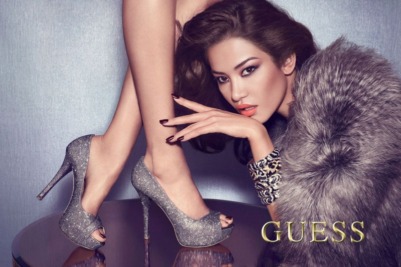 Guess Accessories Offers High Gloss Style for its Fall 2012 Campaign by Claudia & Ralf Pulmanns