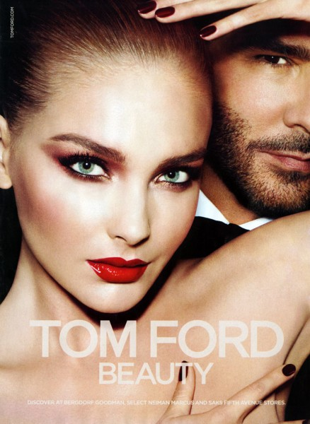 Snejana Onopka Pops in Tom Ford's Fall 2012 Beauty Campaign by Mert & Marcus
