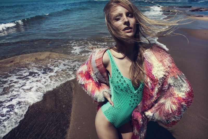 Natalia Uliasz Sizzles For Elle Greece June 2012, Lensed by Dimitris Skoulos