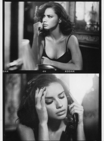 Adriana Lima by Vincent Peters for <em>Vogue Italia</em> February 2011