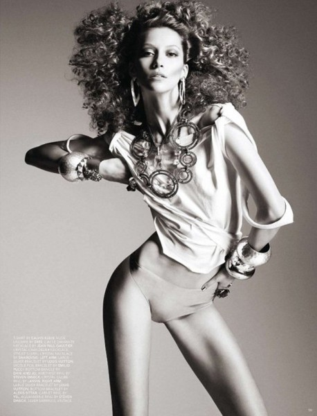 Alana Zimmer by Michael Schwartz for <em>Black</em> #12