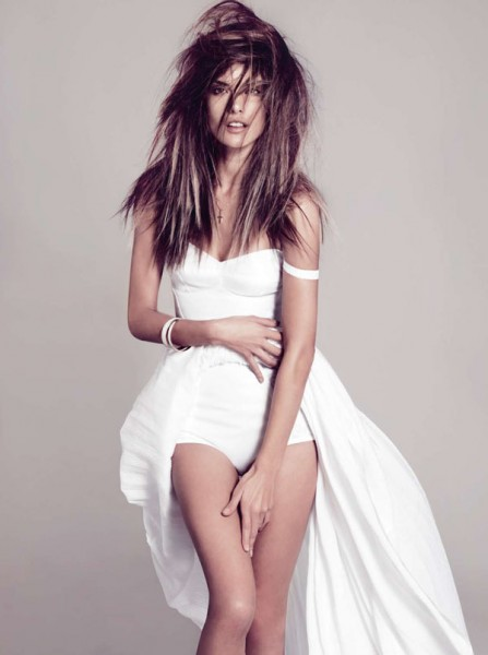 Alessandra Ambrosio for <em>Harper&#8217;s Bazaar Spain</em> February 2011 by Nico