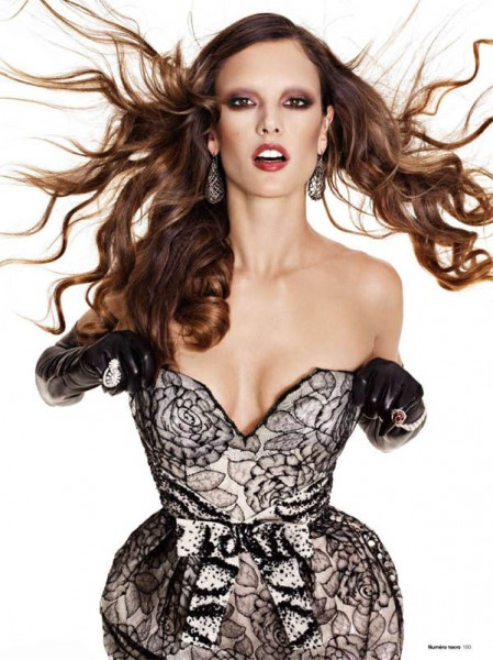 Alessandra Ambrosio by Matthias Vriens-McGrath for <em>Numéro Tokyo</em> January/February 2011