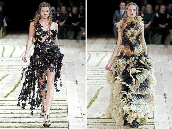 Alexander McQueen Spring 2011 | Paris Fashion Week