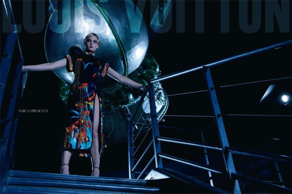 Suzie Bird &#038; Ophelie Rupp in Louis Vuitton for <em>Amica</em> March 2011 by Christopher Morris