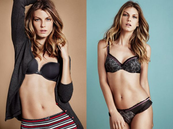 Angela Lindvall for Esprit Bodywear Campaign by Dan Martensen