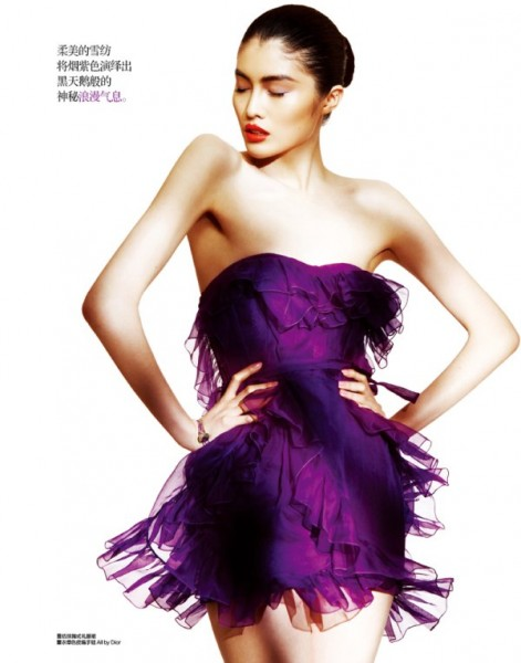Zhou Danni &#038; He Sui by Trunk for <em>Harper&#8217;s Bazaar China</em> March 2011