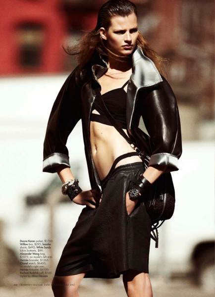 Bette Franke by Benny Horne for <em>Harper&#8217;s Bazaar Australia</em> January 2012