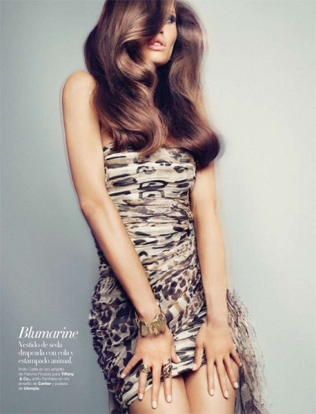 Bianca Balti for <em>Harper&#8217;s Bazaar Spain</em> September 2010 by Txema Yeste