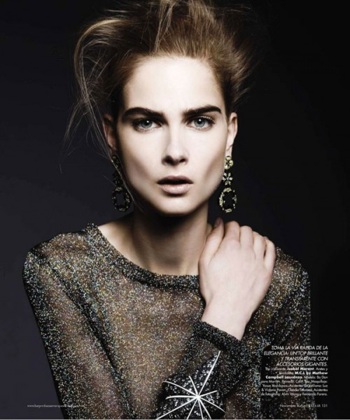Bo Don by Alexander Neumann for <em>Harper&#8217;s Bazaar Mexico</em> November 2010