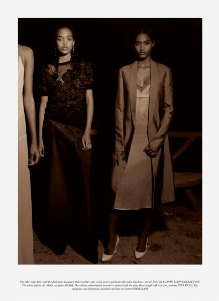 Melodie Monrose, Marihenny Rivera & Shena Moulton by Camille Vivier for Grey #6