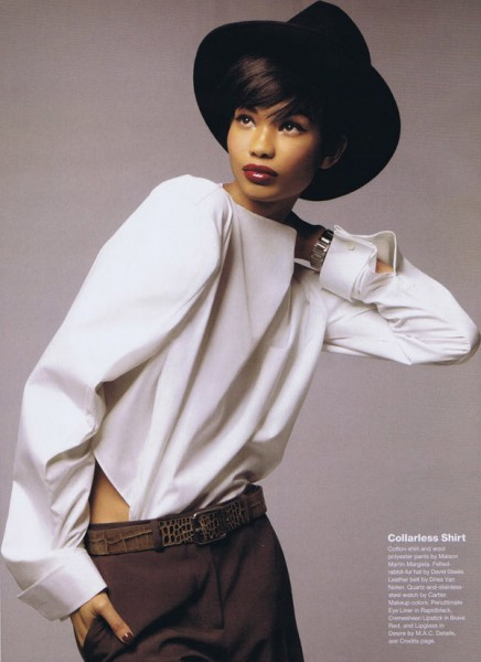 Chanel Iman for <em>Allure</em> September 2010 by Thomas Schenk