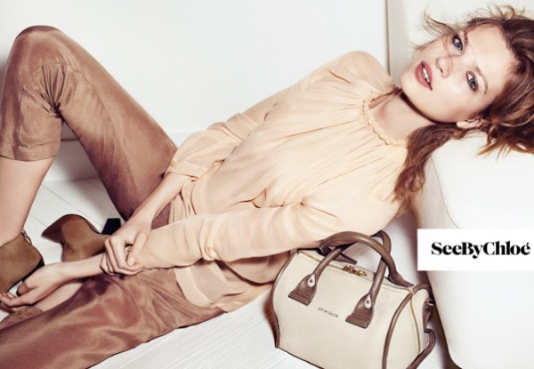 Bette Franke Keeps it Casual in See by Chloe's Fall 2012 Campaign by Gregory Harris