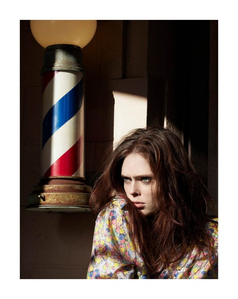 Coco Rocha for <em>Elle Italia</em> January 2011 by Michael Sanders