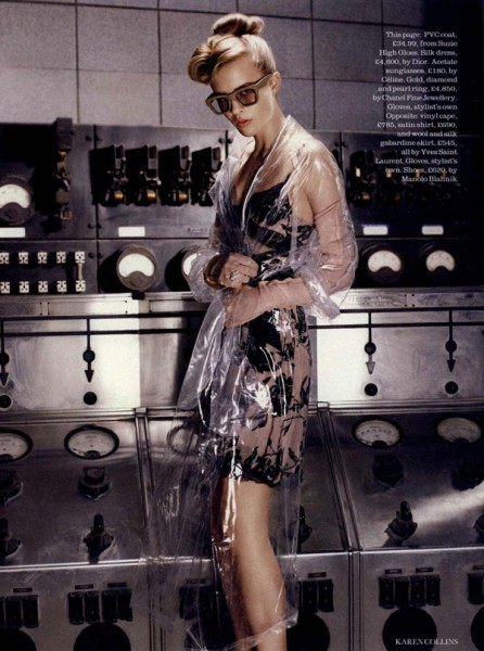 Josefin Hedstrom by Karen Collins in Brand New Retro | <em>Elle UK</em> September 2010