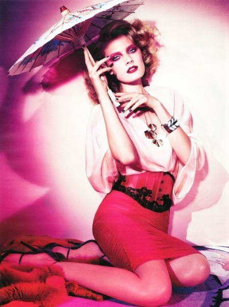 Constance Jablonski for <em>Vogue Germany</em> March 2011 by Alexi Lubomirski