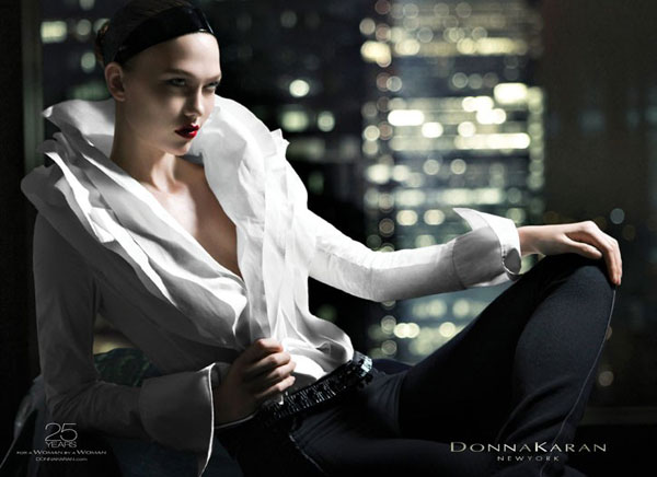 Donna Karan Fall 2010 Campaign Preview | Karlie Kloss by Patrick Demarchelier